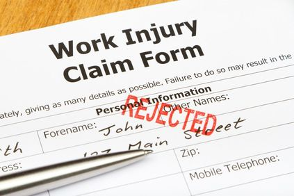 rejected workers comp