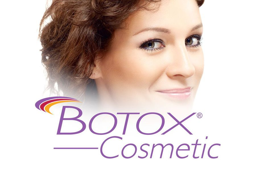 photo of a woman with the BOTOX logo