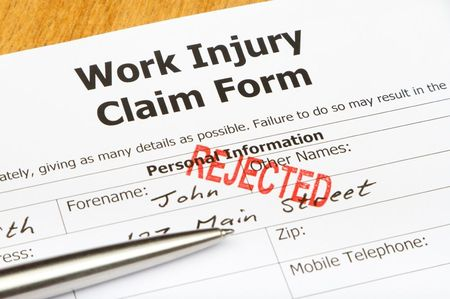 A denied workers' compensation claim