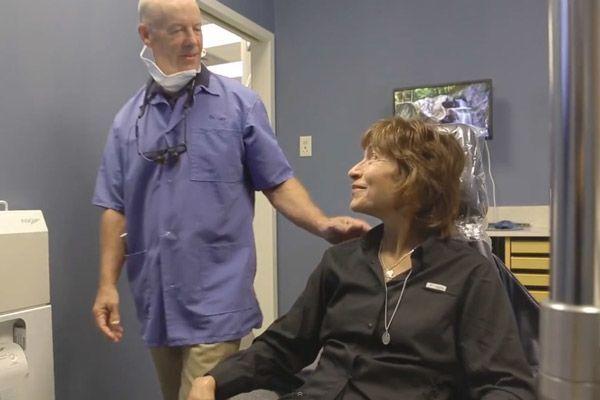 Chrisman & Wyse doctors with patient