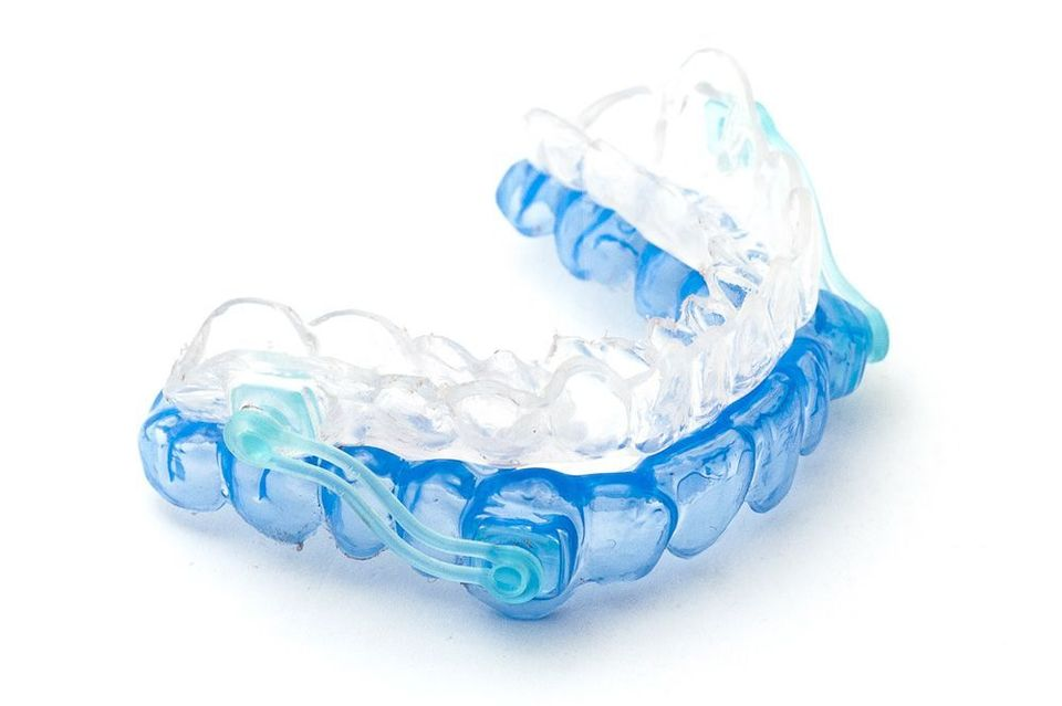 Sleep apnea mouth guard