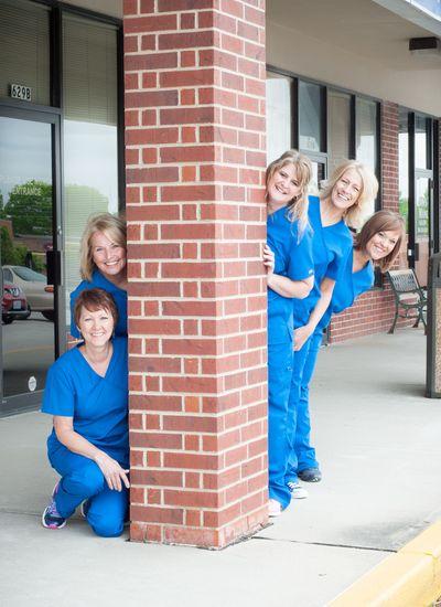 Dental staff at Dr. Turner's office