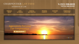 Banner of Charpentier Law Firm, P.A | Cocoa, Melbourne and Titusville, FL, , Personal Injury Attorney