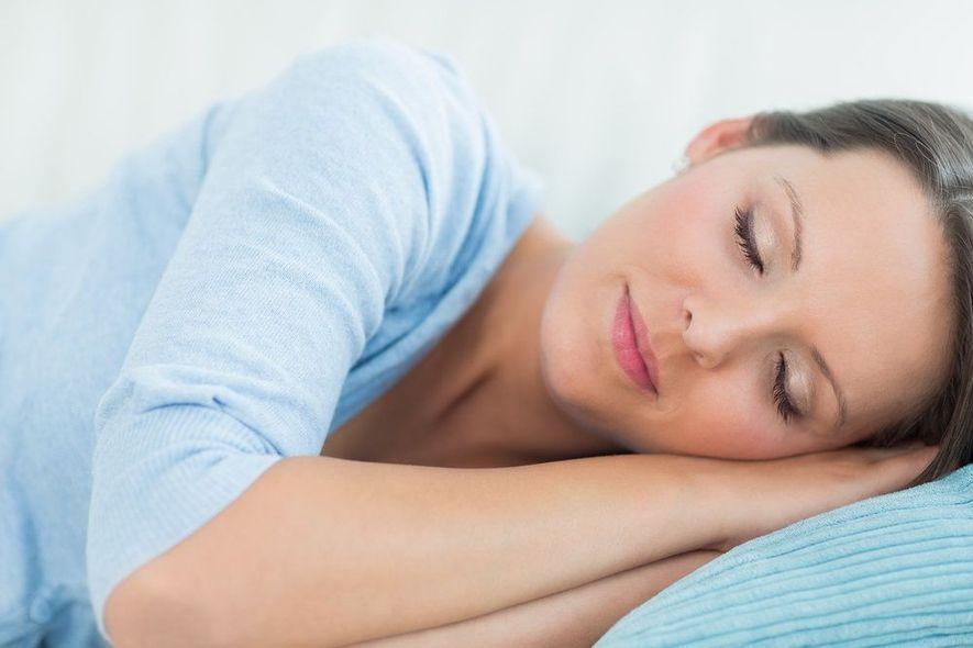 sedated woman