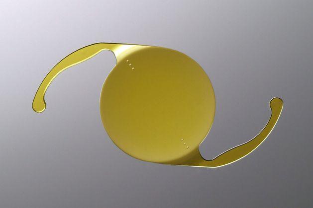 Illustration of toric lens