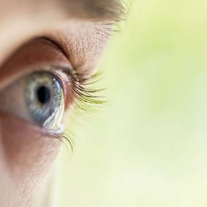 image of person with LASIK