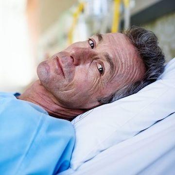 ill patient