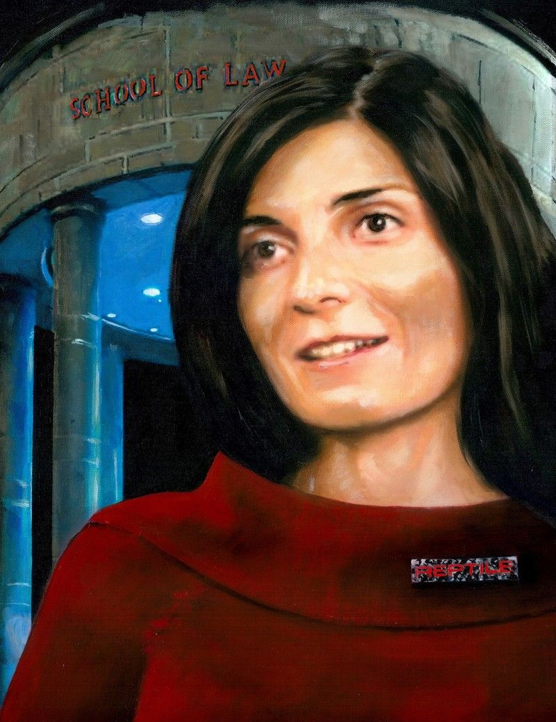 Portrait of Artemis Malekpour.