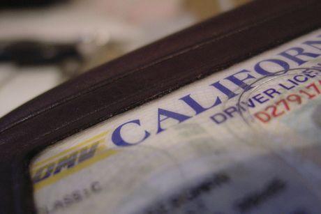 A California driver's license
