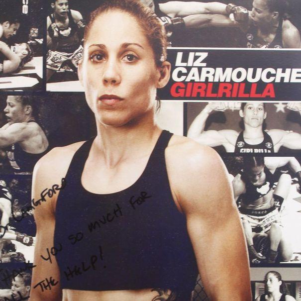 Bust photo of Liz Carmouche.