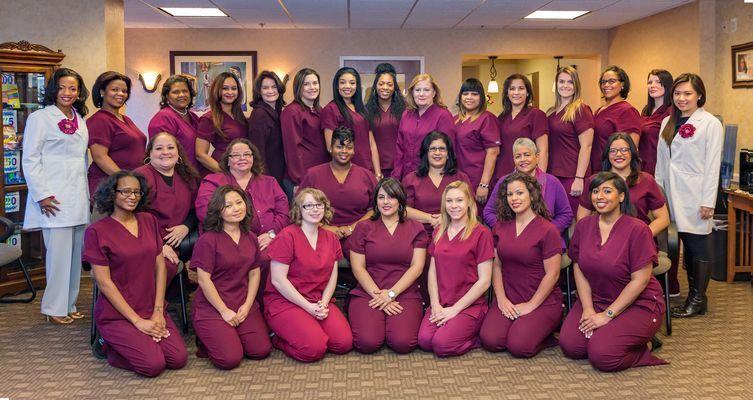 Staff at Kelly Hodges Orthodontics
