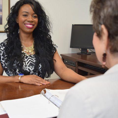 Woman at Deason Garner Law Firm desk