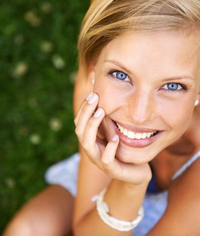 image of woman with six month smiles