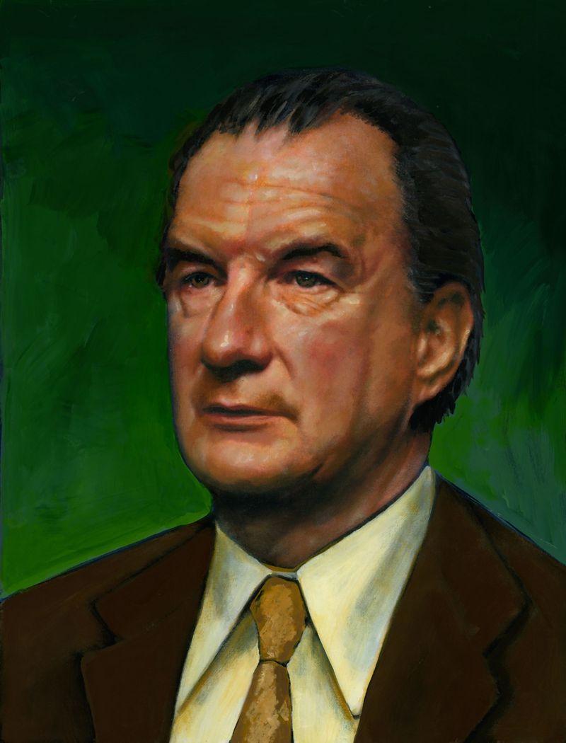 Portrait of Edward Bennett Williams.