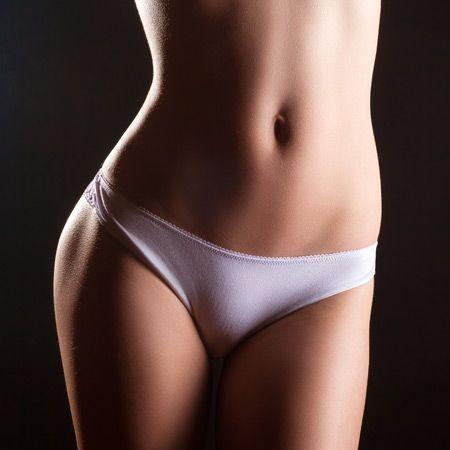 woman's waistline