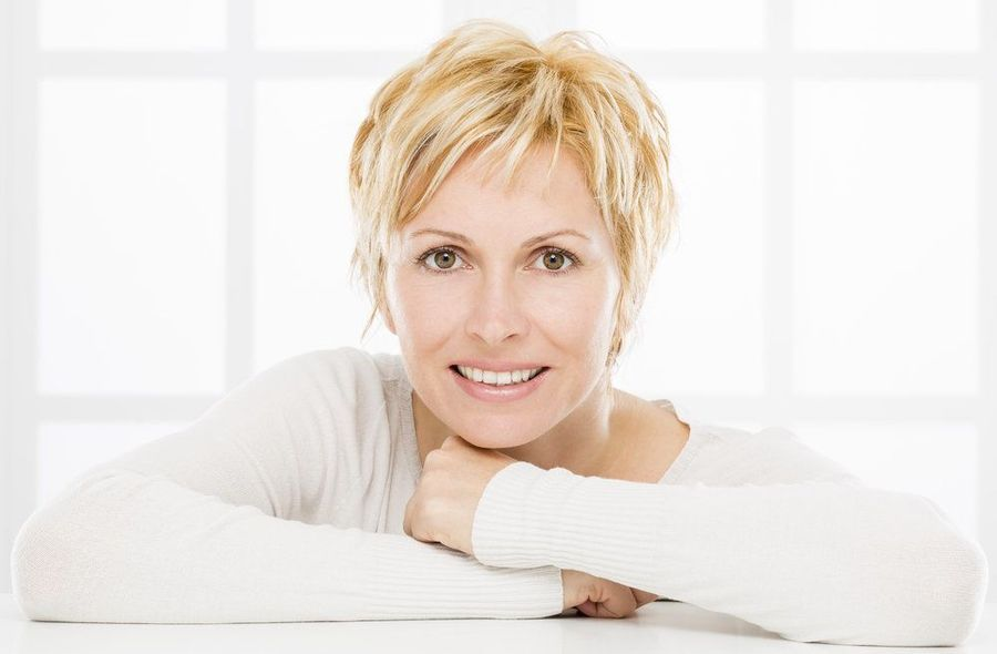 image of woman with Radiesse®