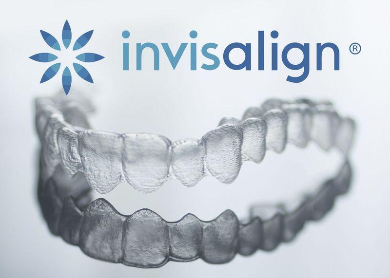 image of Invisalign aligner