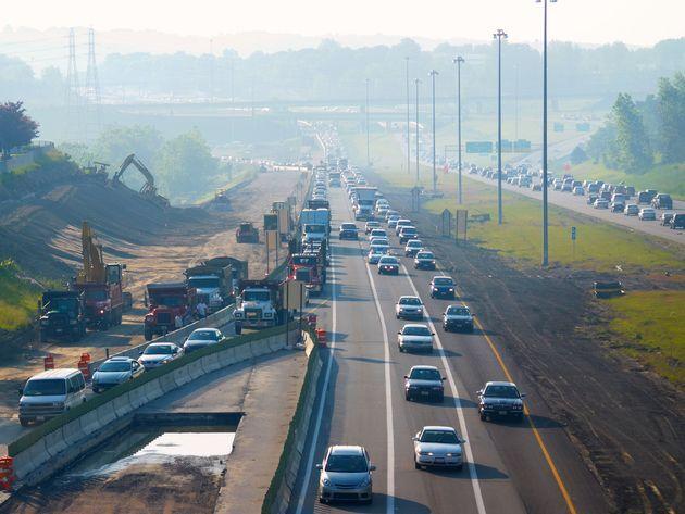 highway construction zone