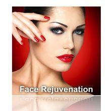 Facial rejuvenation illustration.
