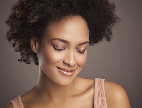 A woman with youthful looking skin