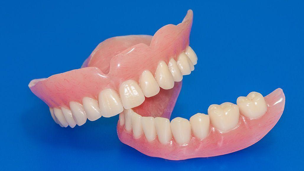 illustration of denture