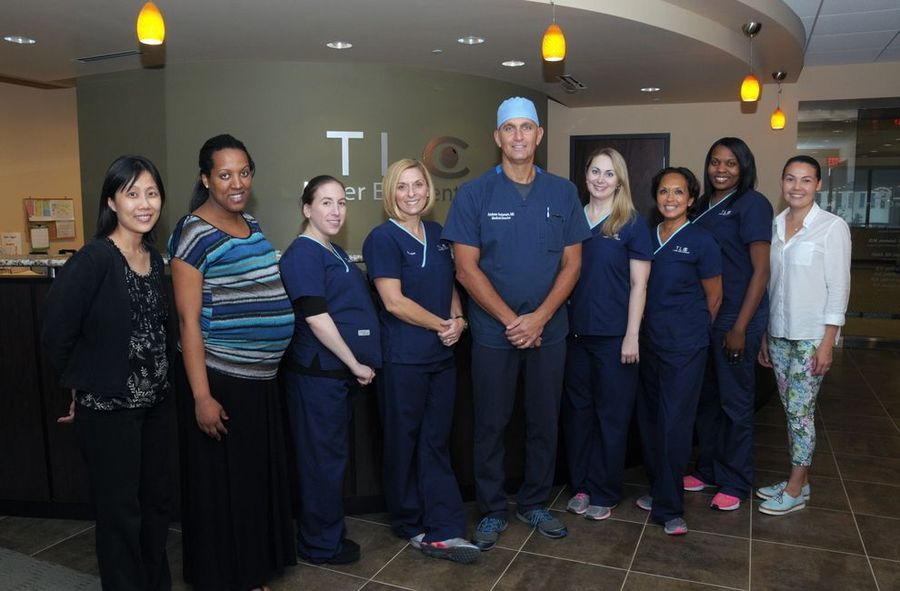 Dr. Holzman and the Staff at Tysons Corner