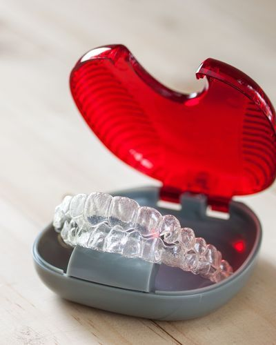 Invisalign® clear aligners.