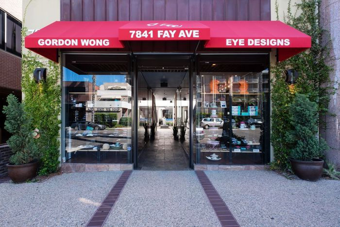 Front view of Eye doctor practice of Gordon Wong
