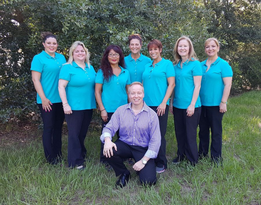 Dr. Franceschi and his dental team