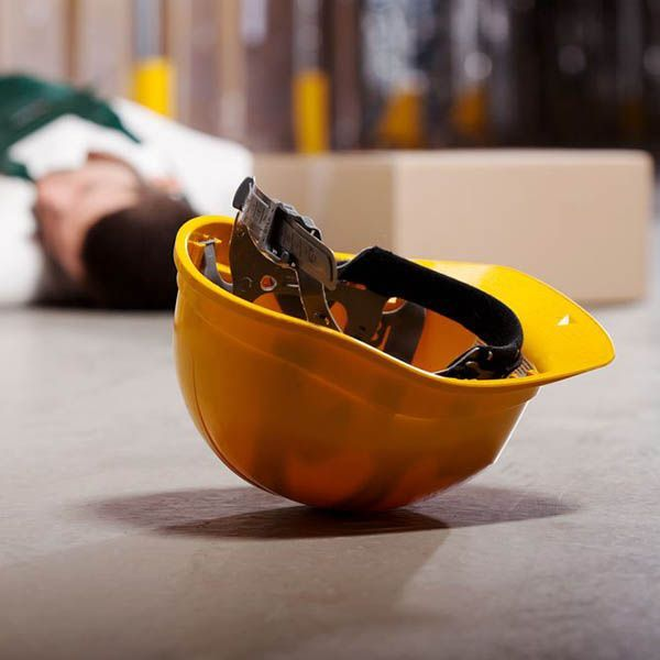 industrial work accident victim