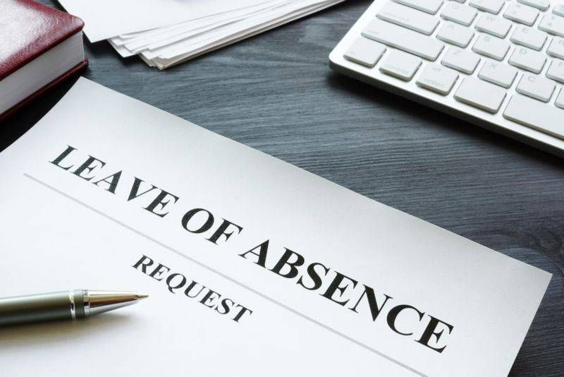 Leave of absence paperwork