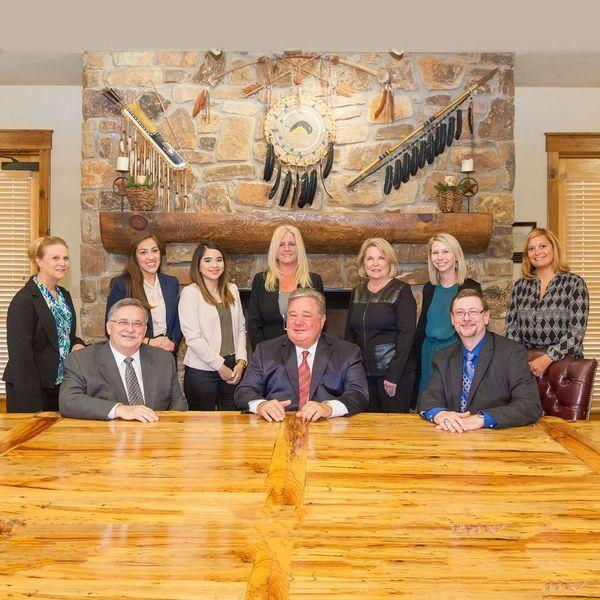 Group photo of staff at Rocky Walton Injury Lawyers.