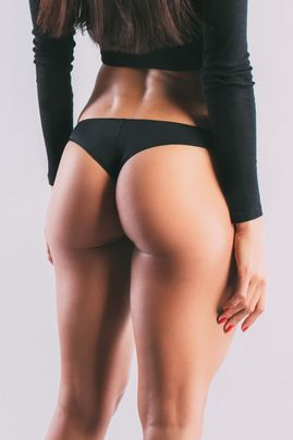 Image of woman with Brazilian butt lift