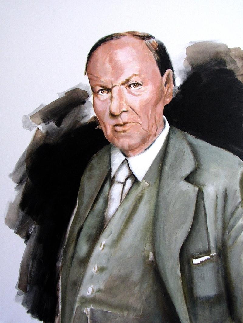Portrait of Clarence Darrow. Older.