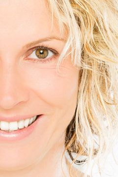 woman's rejuvenated face