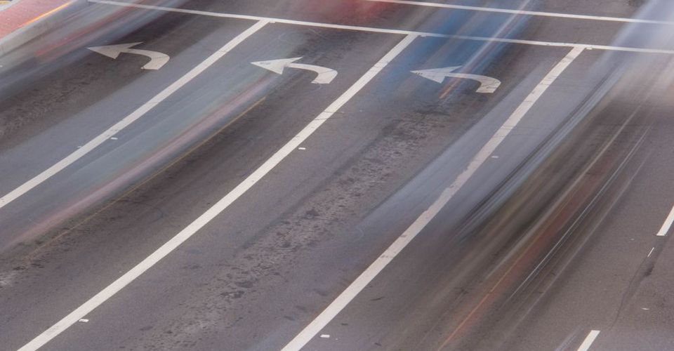 Lanes of traffic