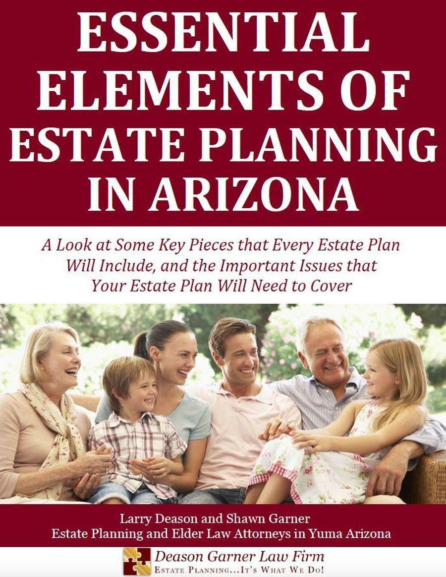 essential elements of estate