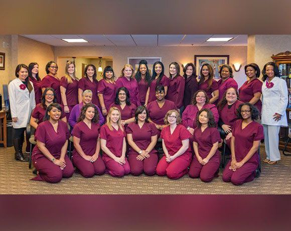 Staff at Kelly Hodges Orthodontics office