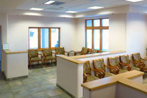 The Oral & Maxillofacial Surgery Center of Santa Fe waiting room