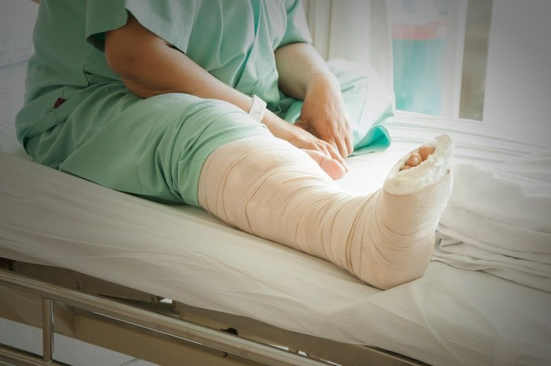 injured person