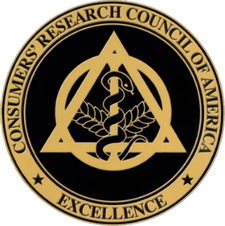 Consumer's Research Council of America Excellence logo