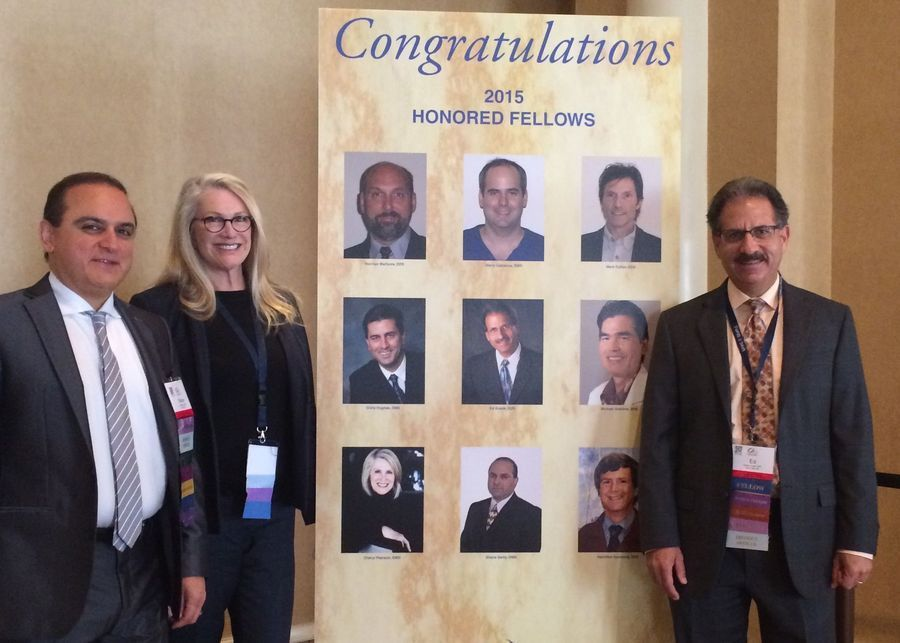 Dr. Cherly Pearson being honored among other 2015 fellows