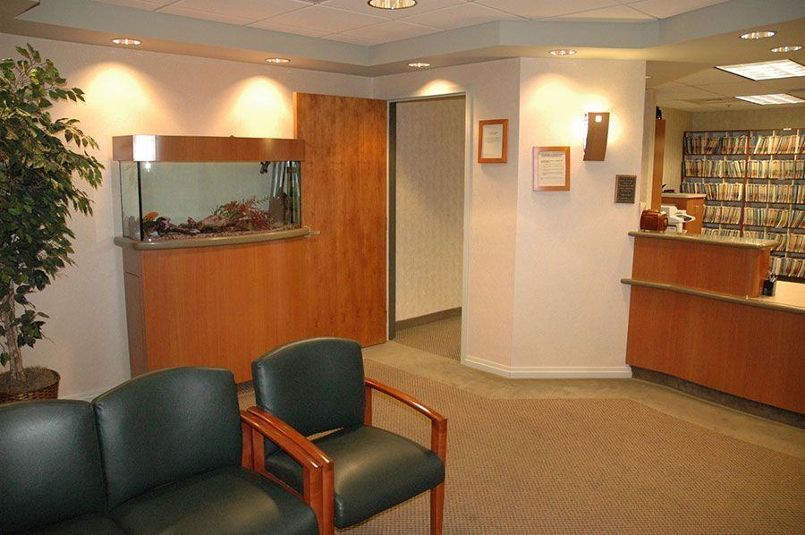 An image of the interior of Dr. Griffiths' office