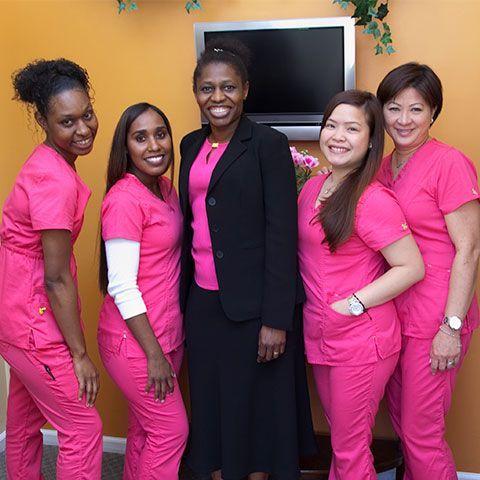 Photo of Dr. Mamah and team