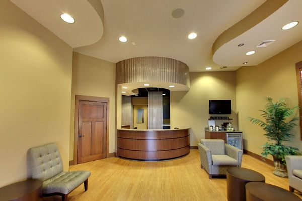 Bright, modern dental office