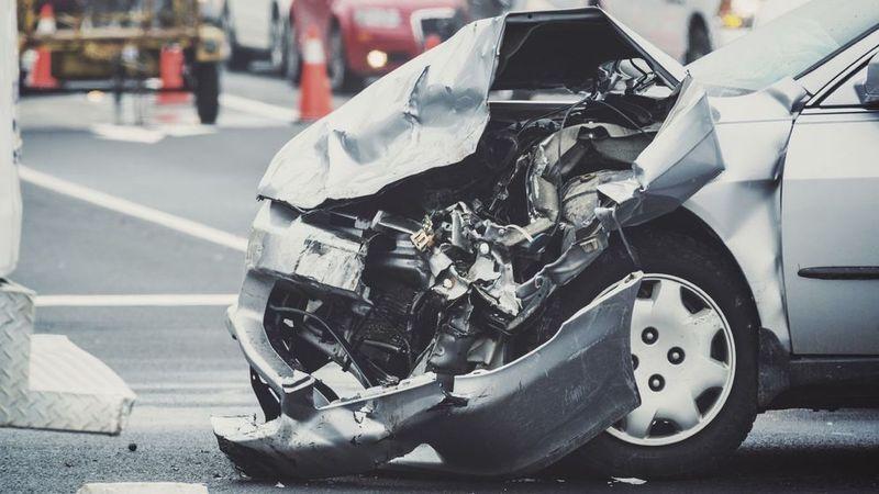 Serious car wreck