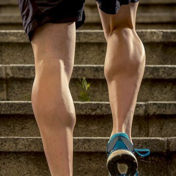 Photo of muscular calves