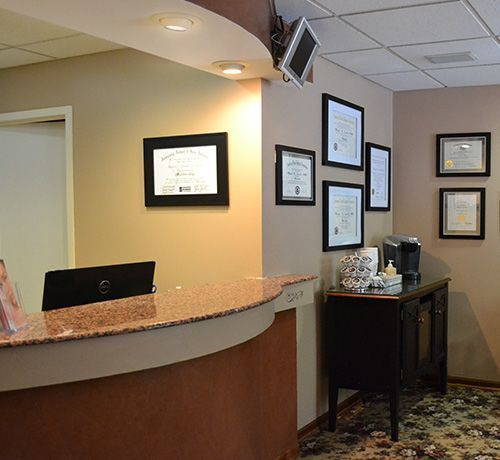 Photo of office at Northland Dental Medicine