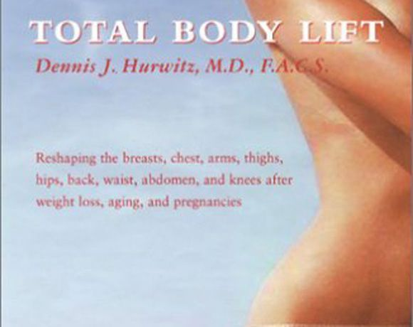 Photo of a total body lift pamphlet