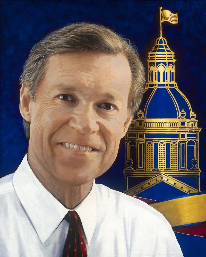 Portrait of Wayne Hogan.